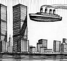 Titanic Towers by Calgacus