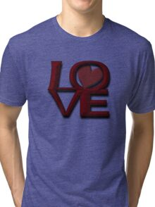 City Of Brotherly LOVE Tri-blend T-Shirt