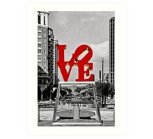 City Of Brotherly LOVE Art Print