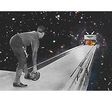 Space bowling. Photographic Print