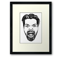 Simon Neil Illustration Framed Print