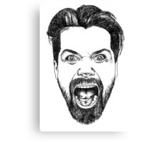 Simon Neil Illustration Canvas Print
