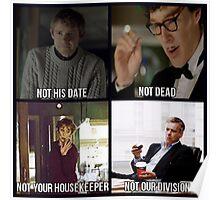 Sherlock BBC Cast Poster