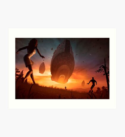 Invasion Art Print