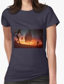 Invasion Womens Fitted T-Shirt