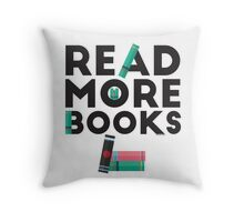 Read More Books! Throw Pillow