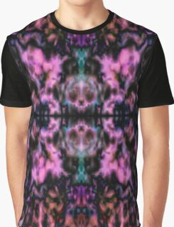 Pink psychedelic kaleidoscope pattern Graphic T-Shirt