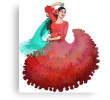 Flamencoed! Canvas Print