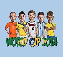 World Cup 2014 by Ben Farr