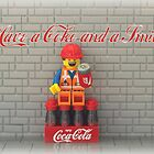 Have a Coke and a smile  by minifignick