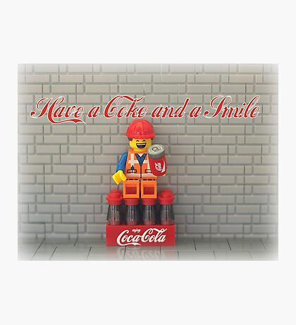 Have a Coke and a smile  Photographic Print