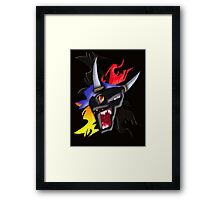 Born to Raise Hell.  Framed Print