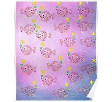 FISHIES PATTERN Poster