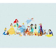 princesses and company Photographic Print