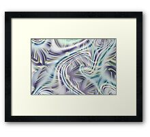 Abstract Shards Fractal  Framed Print