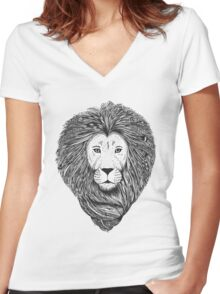 The Lion King Women's Fitted V-Neck T-Shirt