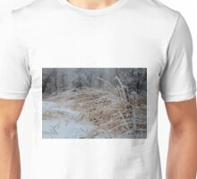 Frost Laden Grasses Unisex T-Shirt