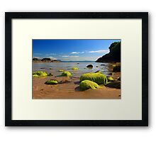 Fintragh Bay Beach Framed Print