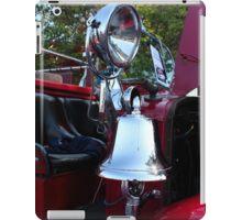 Fire Truck Bell I iPad Case/Skin