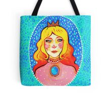 Pouty Princess Peach Tote Bag