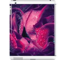 Rose with water drops. iPad Case/Skin