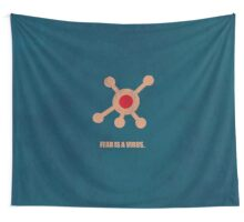Fear Is A Virus - Corporate Start-up Quotes Wall Tapestry