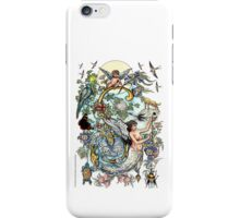 "The Illustrated Alphabet Capital  S  ""Getting personal"" iPhone Case/Skin"