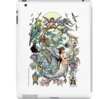 "The Illustrated Alphabet Capital  S  ""Getting personal"" iPad Case/Skin"