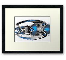 Mazda Kemuri Interior Concept Framed Print