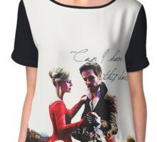 Can I have this dance? Captain Swan <3 Chiffon Top
