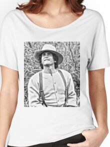 Michael Landon Little House on the Prairie Women's Relaxed Fit T-Shirt