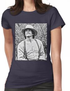 Michael Landon Little House on the Prairie Womens Fitted T-Shirt