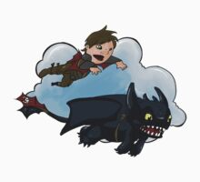 Hiccup and Toothless Baby Tee