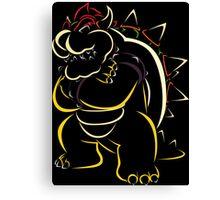 Bowser Canvas Print