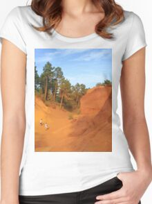 Sentier des Ocres Women's Fitted Scoop T-Shirt