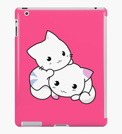 Cute Kittens Playing iPad Case/Skin