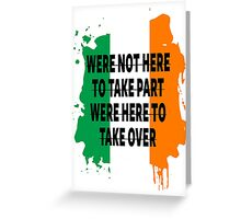 Conor Mcgregor Quote Greeting Card