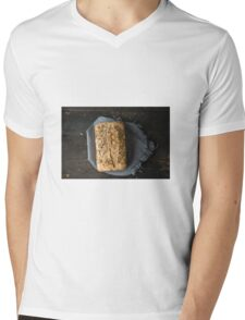 Bread  Mens V-Neck T-Shirt