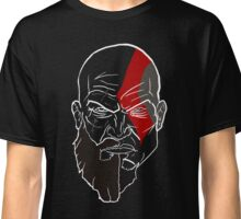 Kratos - Minimalist, Split Potrait Classic T-Shirt