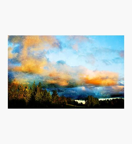 A Colourful Evening Photographic Print