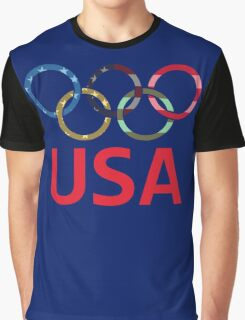 USA Olympic Graphic T-Shirt