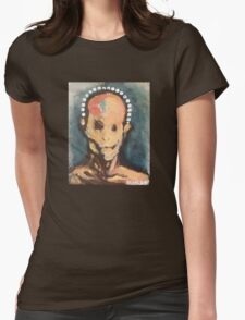 Untitled (Face) Womens Fitted T-Shirt