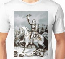 Genl. Franz Sigel at the battle of Pea-Ridge, Ark. March 8th, 1862 - 1862 - Currier & Ives Unisex T-Shirt