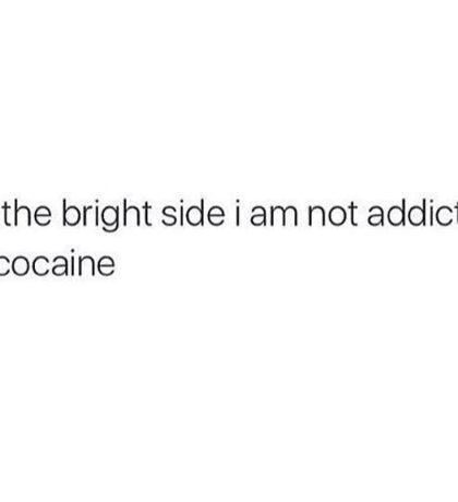 Cocain Sticker
