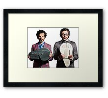 Flight of the Conchords - Jemaine and Bret Framed Print