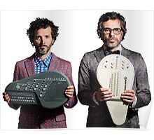 Flight of the Conchords - Jemaine and Bret Poster