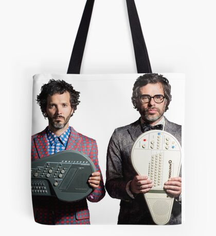 Flight of the Conchords - Jemaine and Bret Tote Bag
