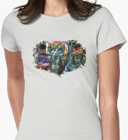 Lovin' 808 Womens Fitted T-Shirt
