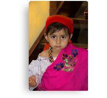 Cuenca Kids 795 Canvas Print