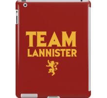 Game of Thrones - Team Lannister. iPad Case/Skin